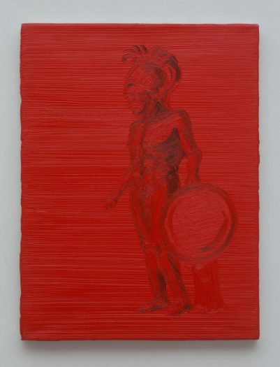 katalin_kaldi_warrior_2000_oil_on_canvas_40x30