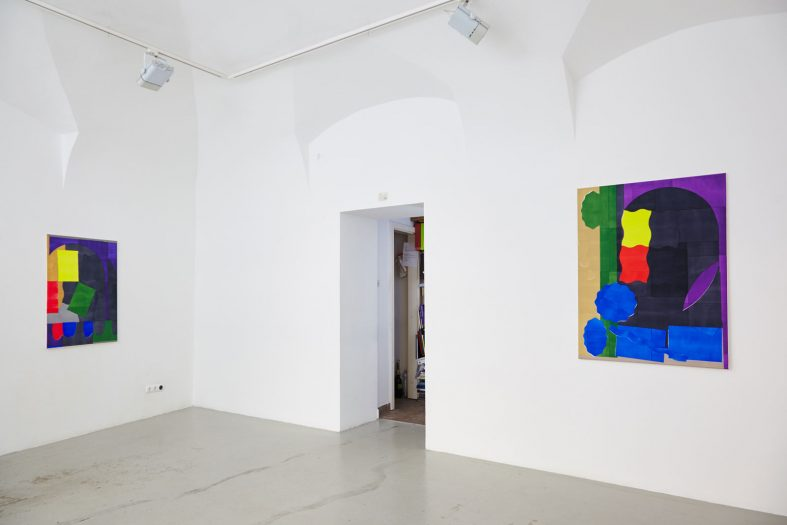 2_installation_view_with_works_of_gergo_szinyova_kisterem_2018
